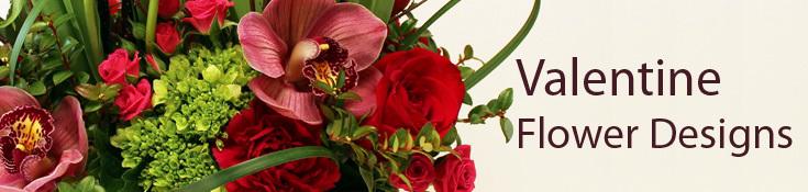 Valentine Flower Designs & Gifts